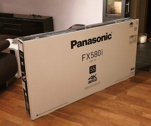 TV im Karton