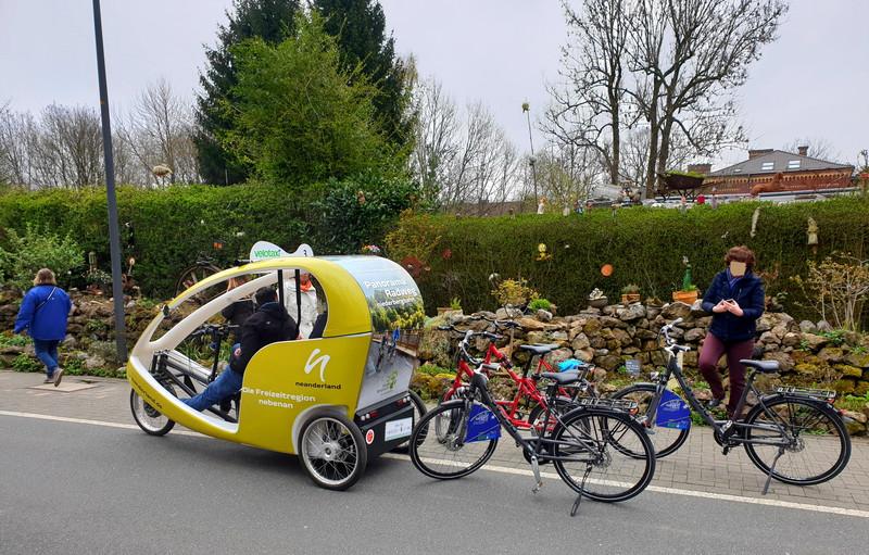 Fahrradtour auf der Nordbahntrasse in Wuppertal