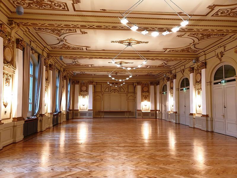 Weiterer kleiner Saal in der historischen Stadthalle in Wuppertal