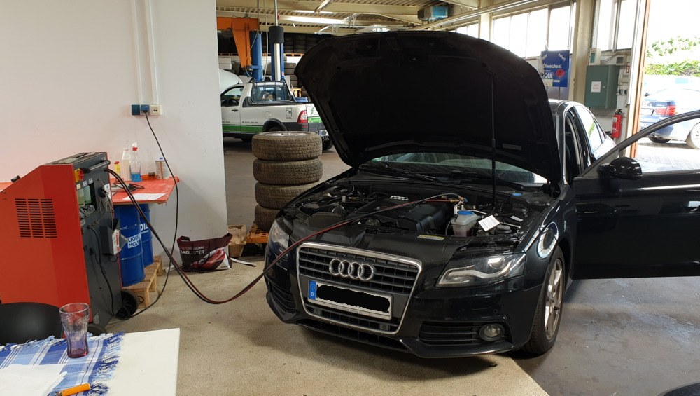 Auto Klimaanlage Reparatur