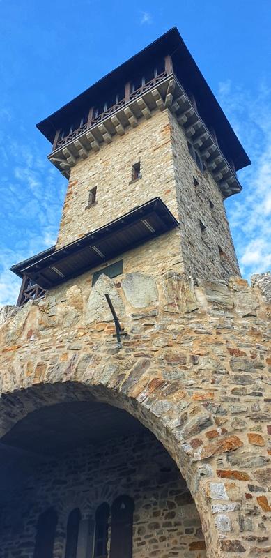 Wanderung im Taunus - Herzbergturm