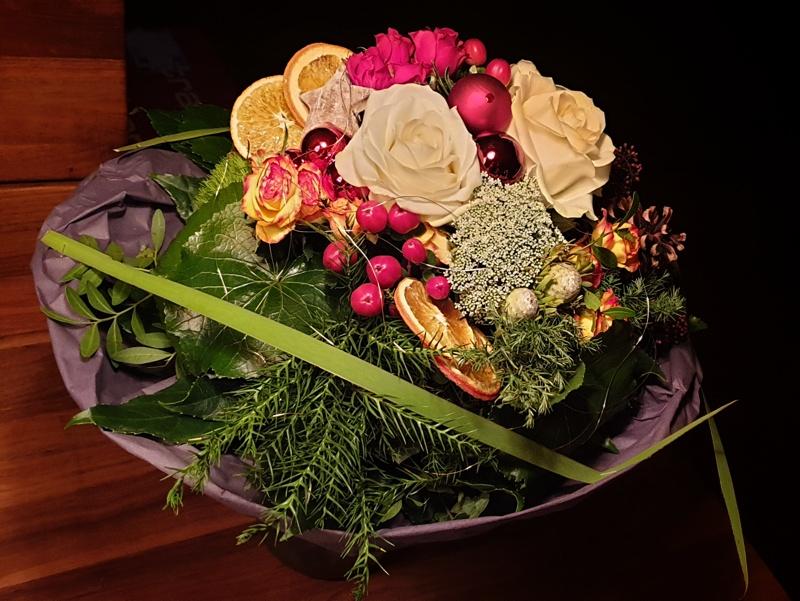 Blumenstrauss von der Firma