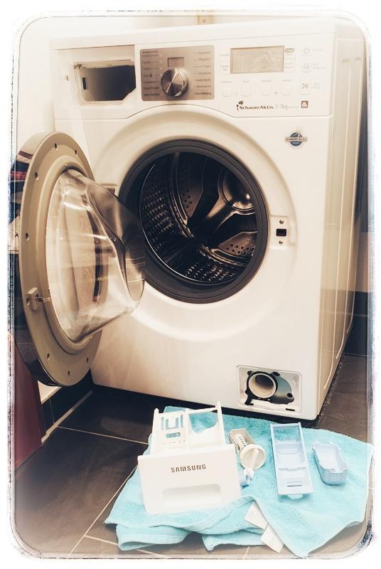 Waschmaschinen-Wartung