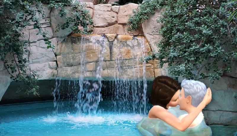 Mediterrana Wasserfall