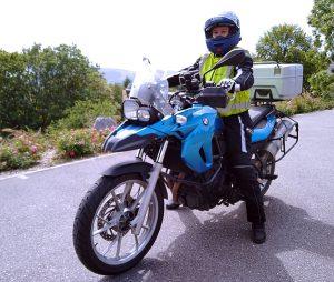 Mein Motorrad und ich - August 2020