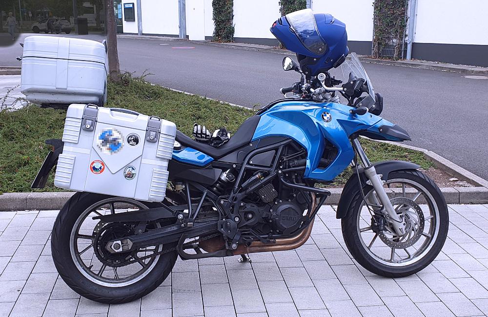 Mein Motorrad August 2020