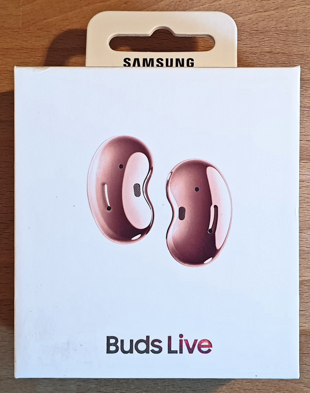 Samsung Galaxy Buds Live Verpackung