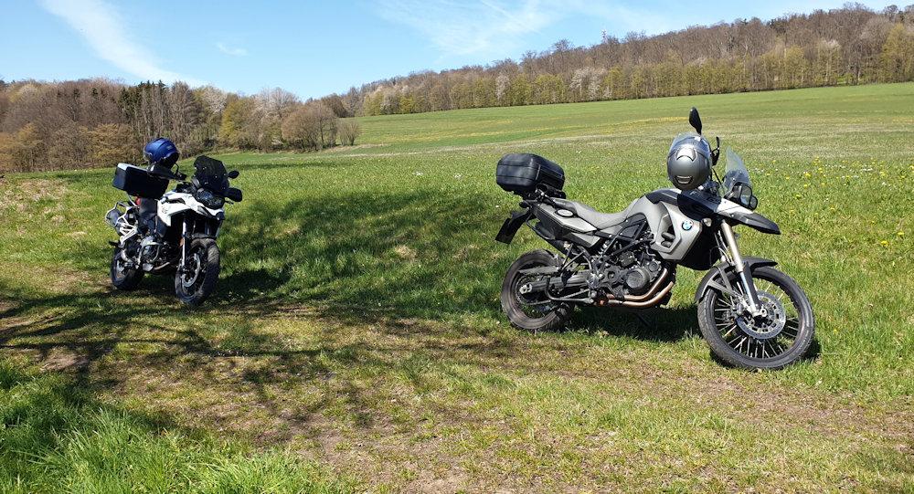 Pause auf der Vogelsbergtour
